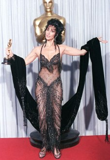 Cher at the 1988 Oscars