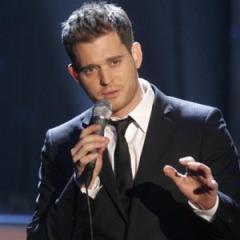 Michael Buble singing