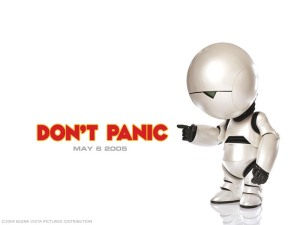 Hitchhiker's Guide to the Galaxy movie poster