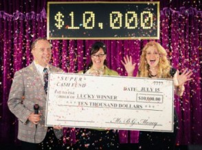 Publishers Clearing House Sweepstakes winner