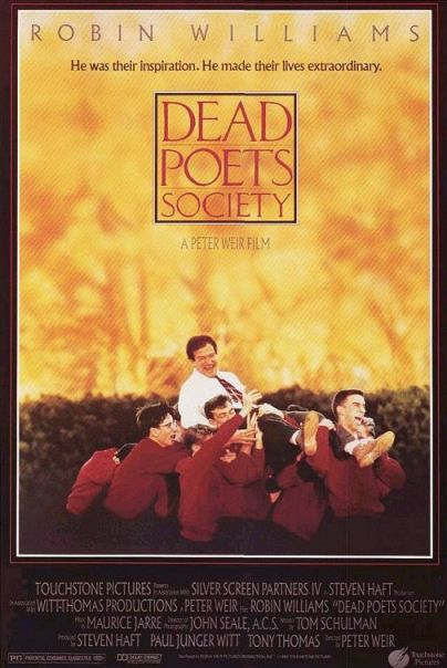 dead poet's society movie poster