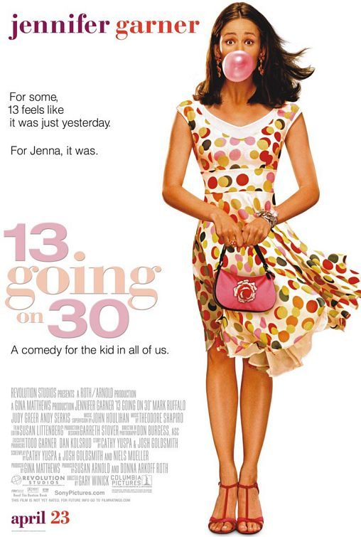 13 going on 30 movie poster