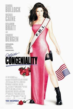 Miss Congeniality movie poster